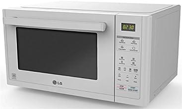 LG Electronics Solar Series - Horno microondas de convección, color blanco