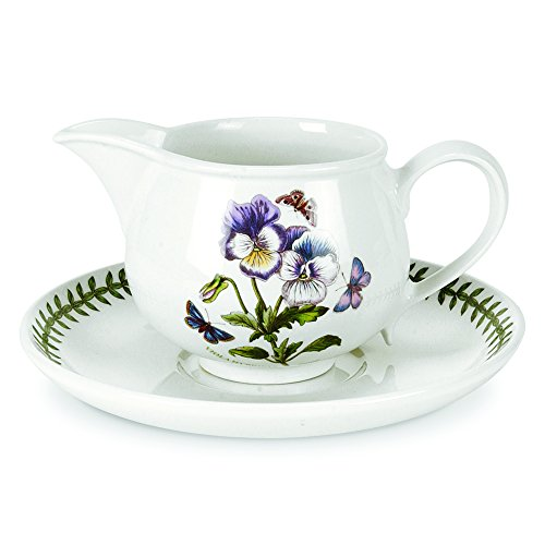 Portmeirion Botanic Garden 20-Ounce Gravy Boat and Stand
