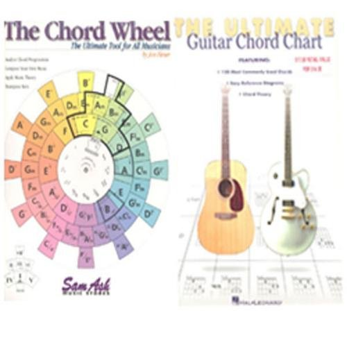 Hal Leonard Sam Ash Chord Wheel & The Ultimate Guitar Chord Chart (Ultimate Guitar Chord Chart compare prices)