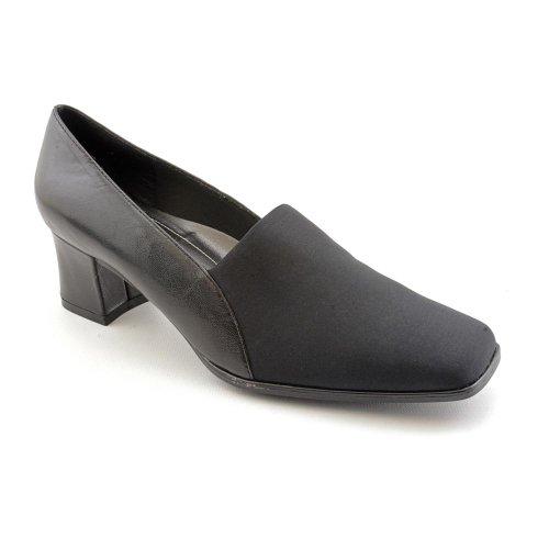 Naturalizer Women's Parmel Pump, Black Fabric/Leather, 7.5 M