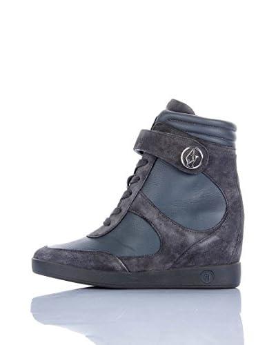Armani Jeans Zapatillas de cuña Z55A1-67 2M