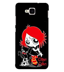 EPICCASE Gloom Doom Mobile Back Case Cover For Huawei Honor 5c (Designer Case)