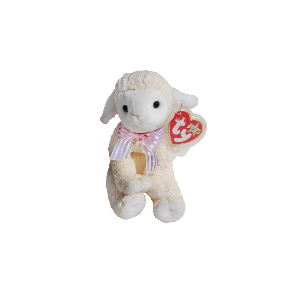8d82efbe17b Lullaby the Lamb Ty Beanie Babies on PopScreen