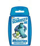Top Trumps - Monsters University Who's The Scariest? 020756