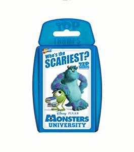Top Trumps Monsters University Card Game