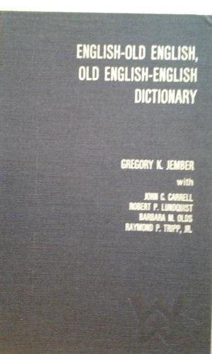 English-Old English, Old English-English Dictionary