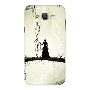 Forest Warrior Back Case Cover for Galaxy J7