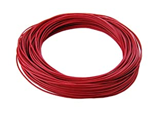 28 Gauge Silicone Wire - 25 ft. Red