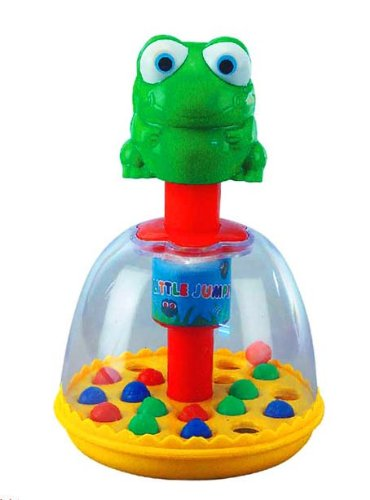 Anand Little Jumping Frogs Small Kids Toys Child toddler Press N Play Rattler