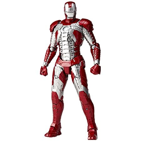 Iron Man: SCI-FI Revoltech No.041 Iron Man Mark 5 Action Figurine