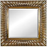 Chisel Arts Mahogany Wood Mirror Frame For The Walls
