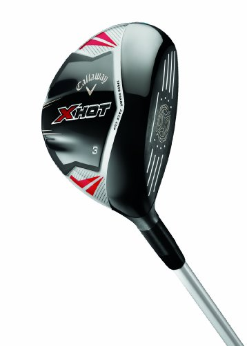 Callaway X Hot Fairway Wood (Left Hand, Graphite, 15 Loft, Light Flex)