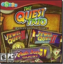 The Quest Trio: Jewel Quest II / Jewel Quest II: Solitaire / Mah Jong Quest