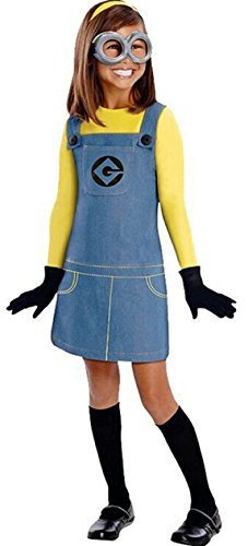 SixKiss Despicable Me Girl's Minion Costumes