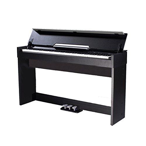 MEDELI CDP6000B Piano digitale compatto con mobile e tastiera hammer action di alta qualità