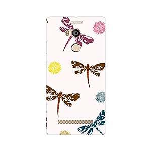Garmor Designer Plastic Back Cover For Gionee Elife E8