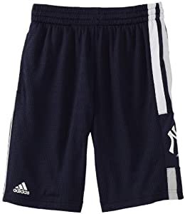 MLB Youth New York Yankees Pre-Game Short (Dark Navy, Small)