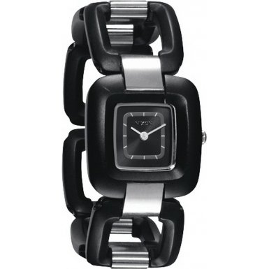 Nixon A248-1000 Ladies Sisi Black Steel Watch