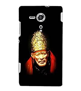Om Sai Ram 3D Hard Polycarbonate Designer Back Case Cover for Sony Xperia SP :: Sony Xperia SP M35h