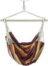 Comprar Ultranatura Bali - Silla colgante con travesaño, carga máxima 150 kg, arco iris, ancho