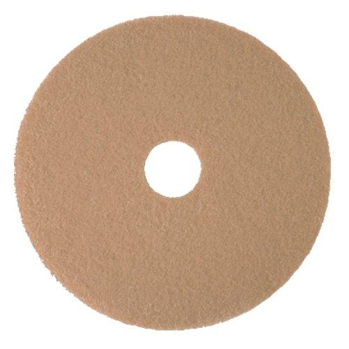 "3M Tan Burnish Pad 3400, 20"" Floor Care Pad (Case Of 5) front-55826"