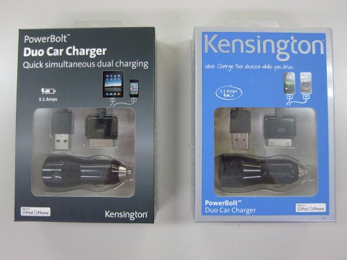 ケンジントン PowerBolt Duo Car Charger 33497