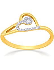 Malabar Gold & Diamonds 18k Yellow Gold And Diamond Ring