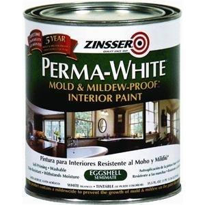 Rust-Oleum 2774 Zinsser Interior EggShell, Perma White