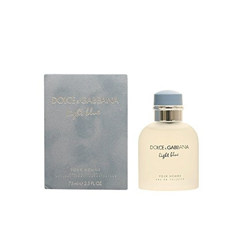 Light Blue for Men ~ Dolce Gabbana 2.5 oz Eau de Toilette Sp