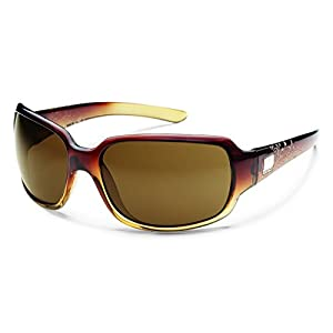 Suncloud Cookie Polarized Sunglasses, Brown Fade Laser Frame, Brown Lens