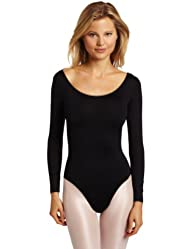 Danskin Womens Long-Sleeve Leotard