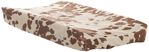 Sweet Potato Happy Trails Changing Pad Cover, Tan/Cream