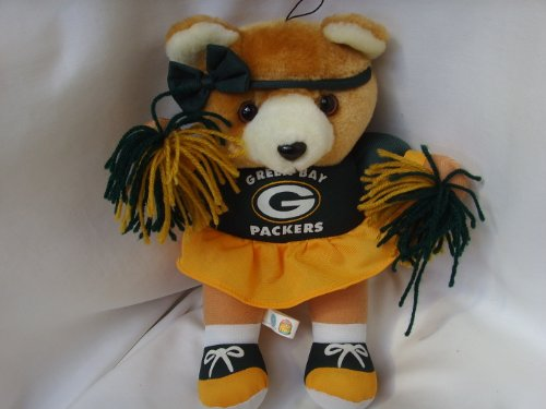 "Green Bay Packers Cheerleader Plush Toy Doll 11"" Collectible at Amazon.com"