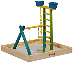 Acrobird Play land, 18-Inch W by 18-Inch D