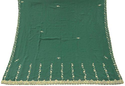 jahrgang-dupatta-lange-stola-georgette-grun-schals-bestickte-wrap-schleier-hijab
