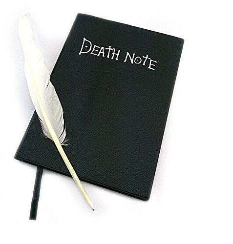 L-zonc 135 Pages Death Note Notebook with Feather Pen - 1