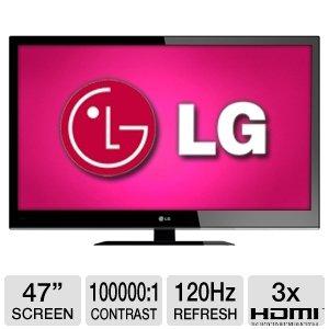 """LG 47"""" Class LED HDTV"""
