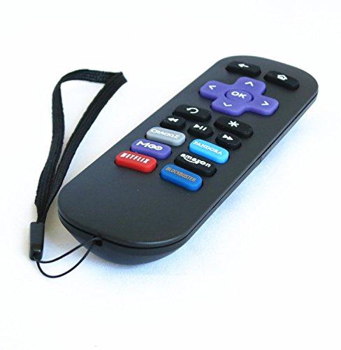 Nettech Roku Replacement Remote for All Roku Streaming Player, Roku 1, Roku 2, Roku 3 (Hd, Lt, Xs, Xd); Do NOT Support Roku Stick or Roku Tv or Mlk247 Tv