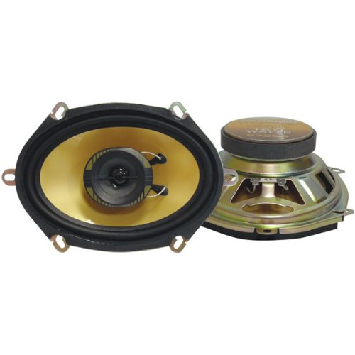 Pyramid 578Gs 5-Inch X 7-Inch /6-Inch X 8-Inch 200 Watts Threeway Speakers