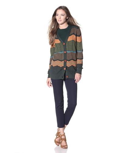 M Missoni Women's Cardigan  - Green Multi