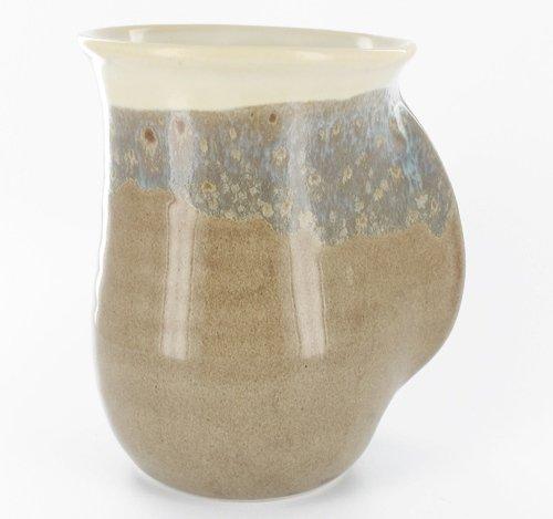 Handwarmer Mug - Sand - Left Handed