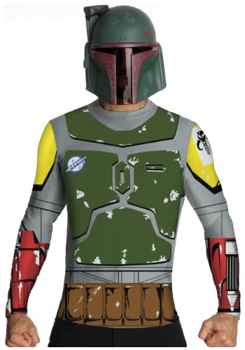 Star Wars Adult Boba Fett Costume Kit, Multicolor, Large