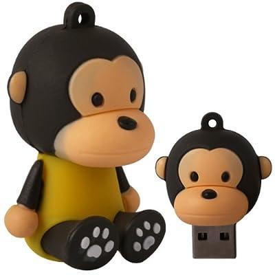 Cnl 8gb Monkey Novelty Usb 2.0 Data Flash Drive Memory Stick Device from Checknet London