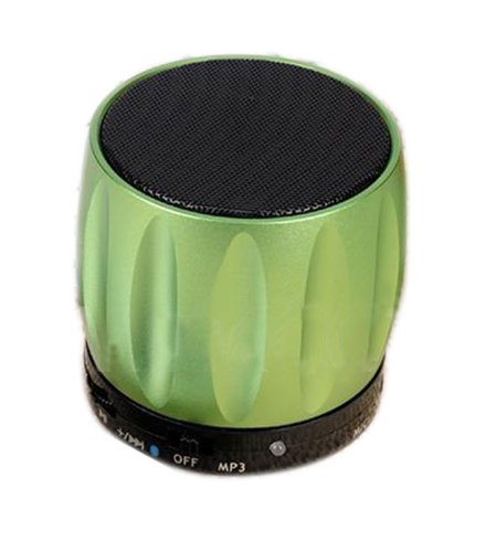 Coluub Bluetooth Speaker Mp3 Speaker Card Reader Function For Mobile Phone With Bluetooth Color Green