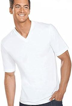 3-Pack Jockey Mens Slim Fit Cotton V-Neck T-Shirts