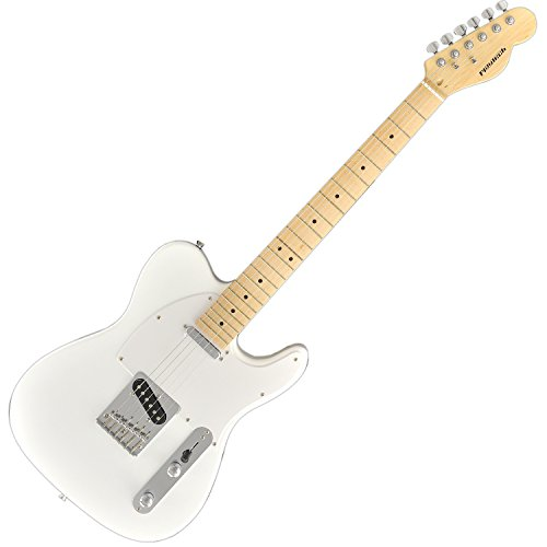 PLAYTECH エレキギター TL-250 WHITE Maple テレキャスタータイプ