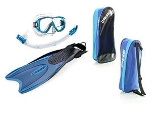 Cressi Palau SAF - Accesorios para buceo (gafas de buceo, snorkel y aletas)