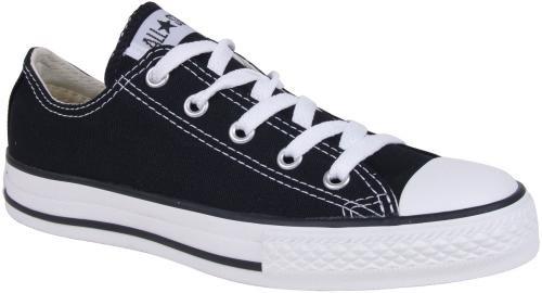 Converse Chuck Taylor All Star OX Shoe - Kids' Black, 3.0