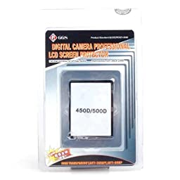 GGS LCD Protector glass for CANON EOS 450D 500D T1i XSi