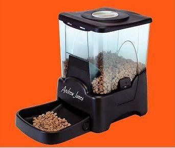 Andrew James  Large 90 Meal Automatic Cat & Dog Pet Feeder / Bowl with Voice